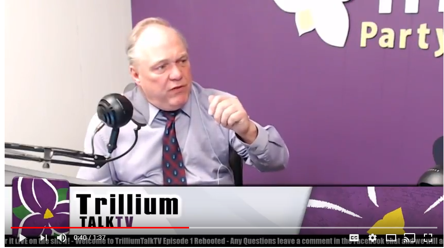 Watch how the Trillium Party has already made a Difference