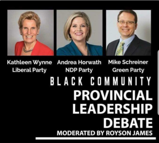 Trillium Party Snubbed by  Operation Black Vote Canada