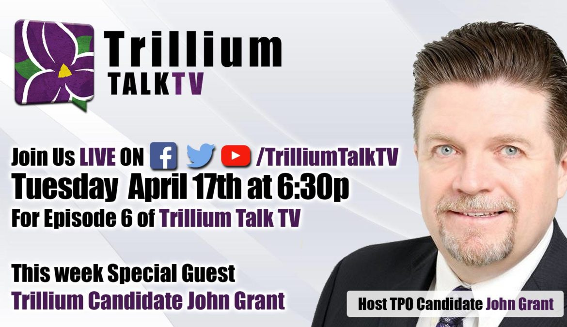 Trillium TalkTV Episode 6 with John Grant