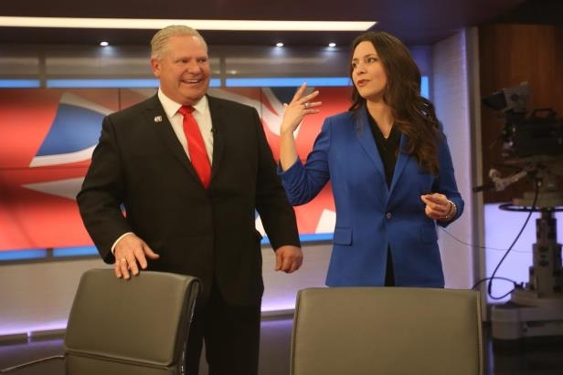 Why in the world would the Liberals and NDP have any influence who Doug Ford has on his ballot?