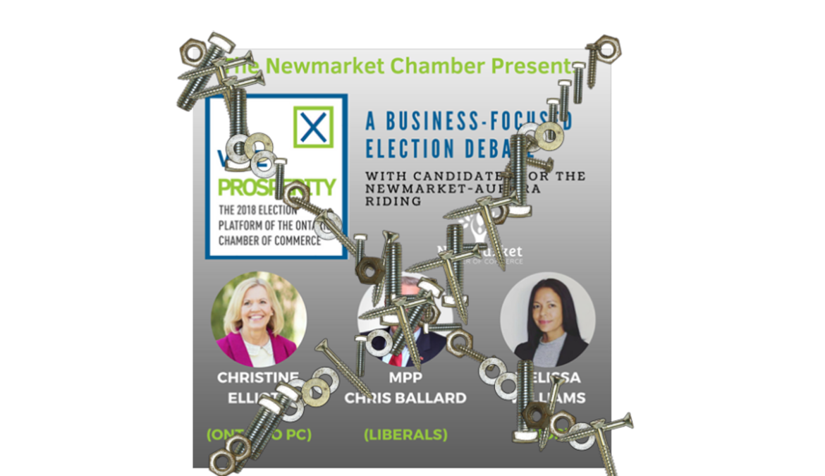 NEWMARKET CHAMBER HAND-PICKING SELECT CANDIDATES TO BE HEARD IN UPCOMING DEBATE